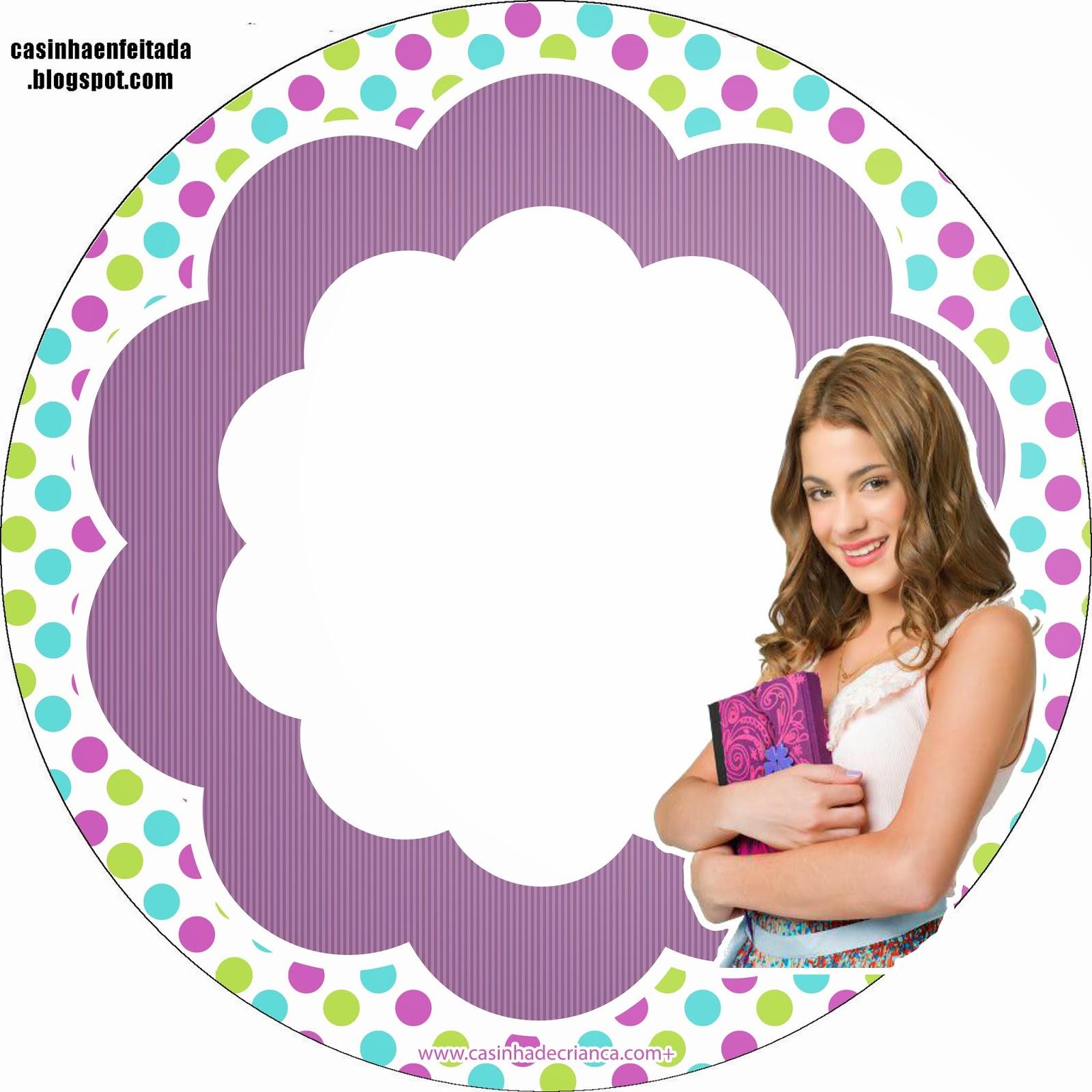 Casinha de Criança: Kit Festa Violetta Para Imprimir Grátis