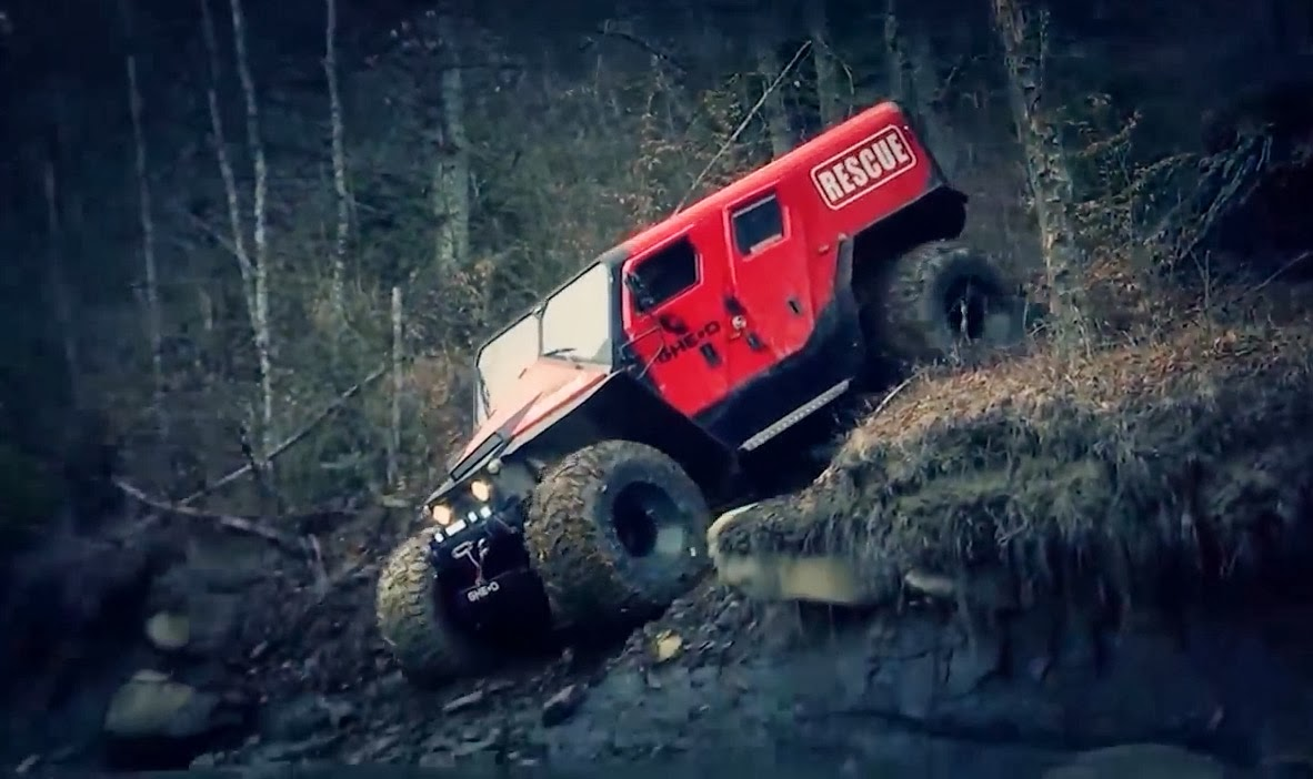 greendef gheo motors rescue offroad vehicle