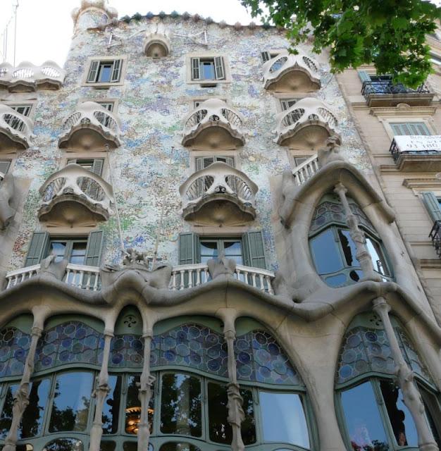 Casa Batllo w Barcelonie