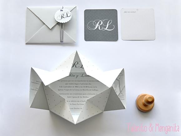 Kit de invitaciones originales para bodas