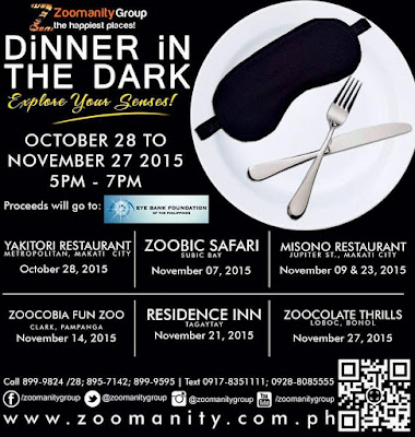 event, dinner, zoomanity