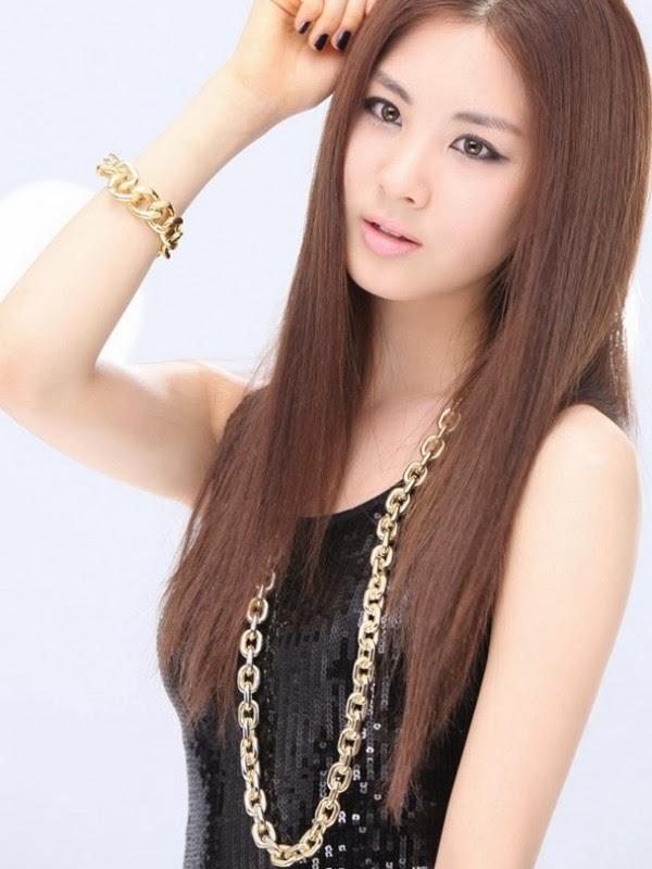 model rambut wanita korea paling cantik saat ini   model