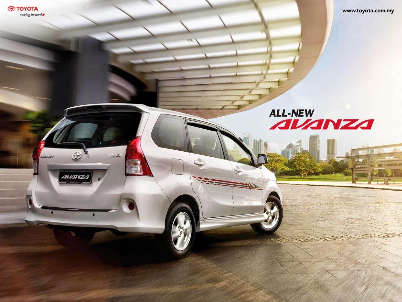 Info Mobil Toyota  Spesifikasi All New Avanza Tahun 2014