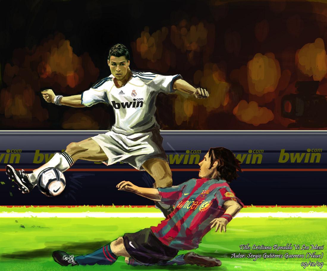 ... Madrid footballer Vs Lionel