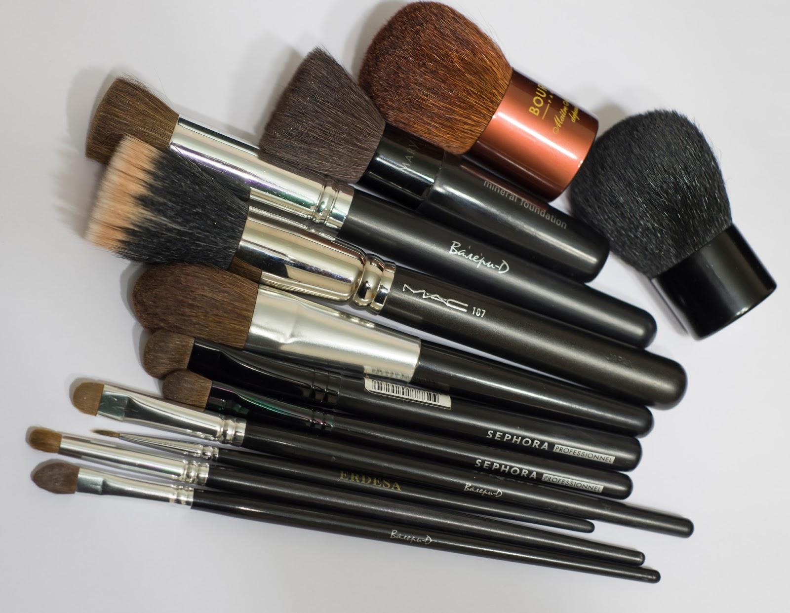 Чем мыть кисти для макияжа если нет специального средства
