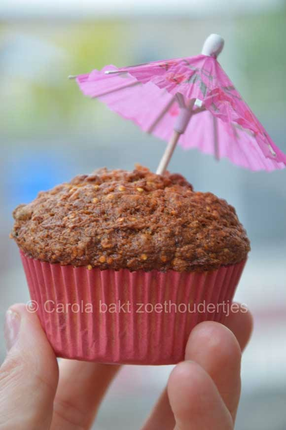 Morning glory muffins vetvrij
