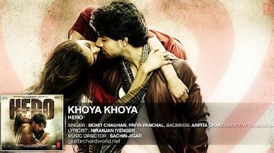 Khoya Khoya Chords - Mohit Chauhan | Hero