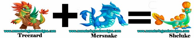 como obtener el monster sheluke en monster legends formula 1