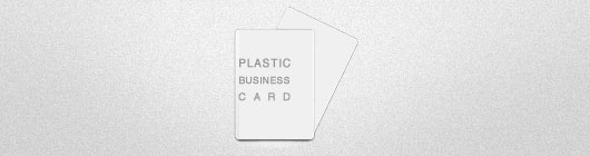 Creative Plastic Business Card Designs
