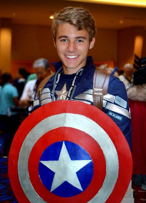 Dragon Con 2014 Cosplay | Captain America