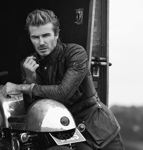 David Beckham by Peter Lindbergh for Belstaff Spring 2014