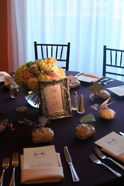 Isha Foss Events Centerpiece Hydrangea Roses, Peony