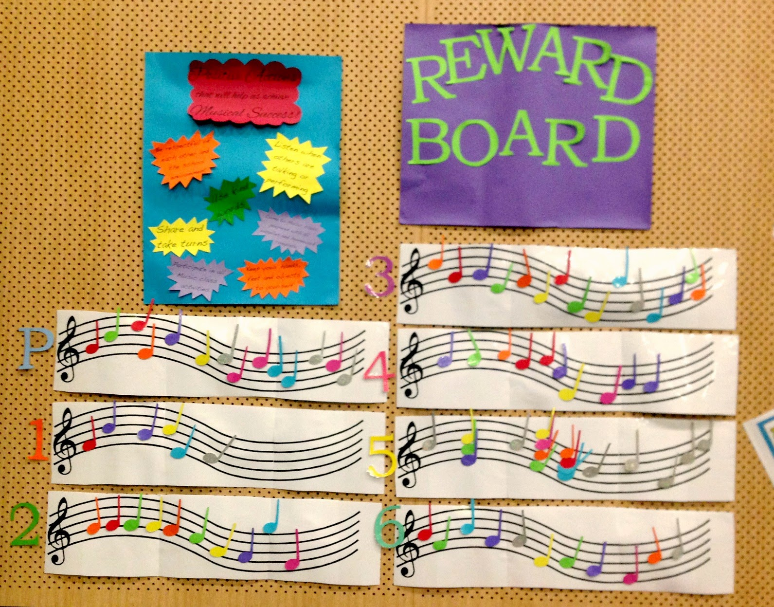Emmie Loves How To Make A Reward Board For Your Music Classroom