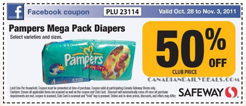 Pampers coupons printable october 2018