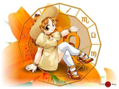 signo zodiacal virgo en anime