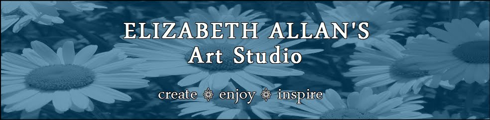 Elizabeth Allan's Art Studio