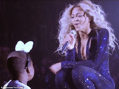 Beyonce Makes Wish Come True For Terminally Ill Girl