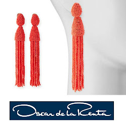 Queen Maxima Style - OSCAR DE LA RENTA Earrings NATAN Pumps