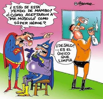 mr musculo superheroe