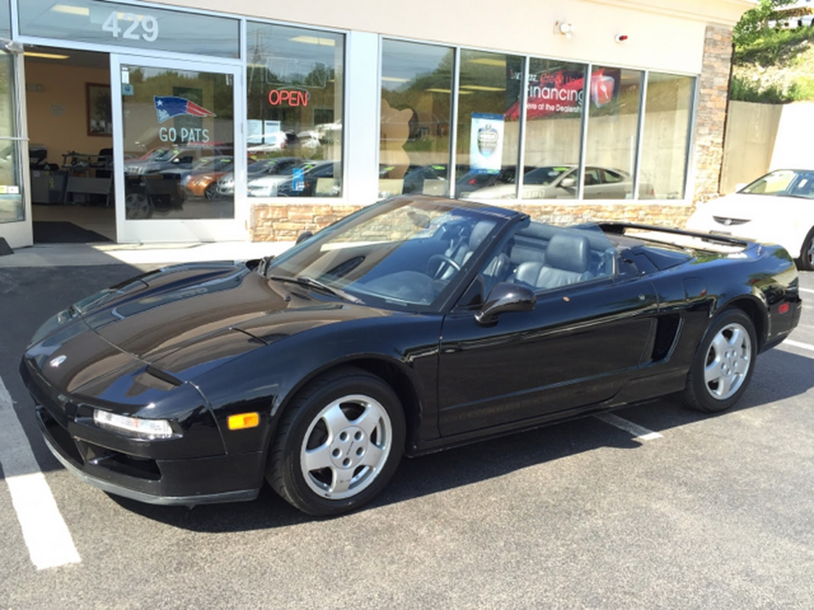 Someone Chopped An Acura NSX Into A Convertible And Is Now Asking $50k For It