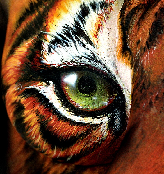 Craig Tracy | Body Art Illusions painter