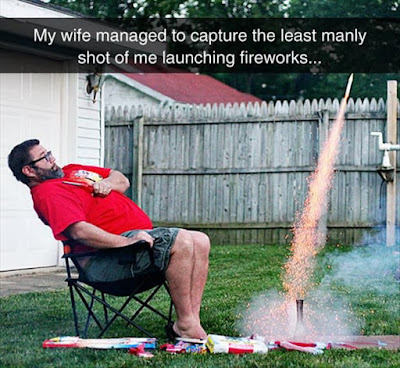 manly setting off fireworks, fourth of july, july 4th, july 4th comic, july 4th funny, fireworks funny, fireworks comic, zucchini summer blog