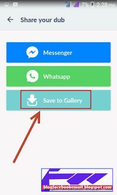 cara menyimpan video dubsmash ke memory android