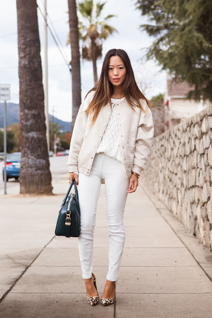 total look en blanco