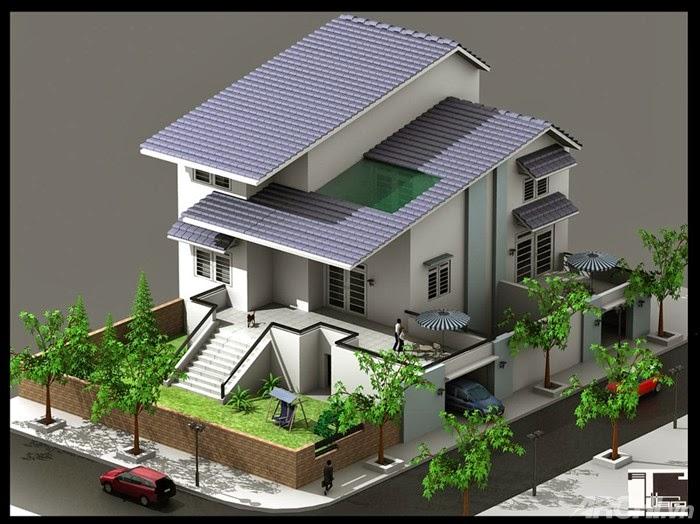 Thiết kế kiến trúc nội thất việt