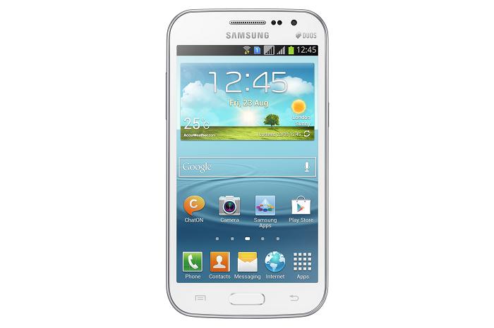 مواصفات ومميزات وأسعار جهاز سامسونج جالاكسي وين Samsung Galaxy Win GT-I8552 مزدوج الشريحة