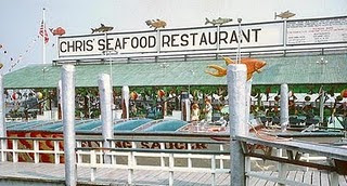 Chris Restaurant Next To Hogates And The Ocean City Somers Point Causeway Bridge Was A Long Time Landmark First Thing You Saw When Driving Into