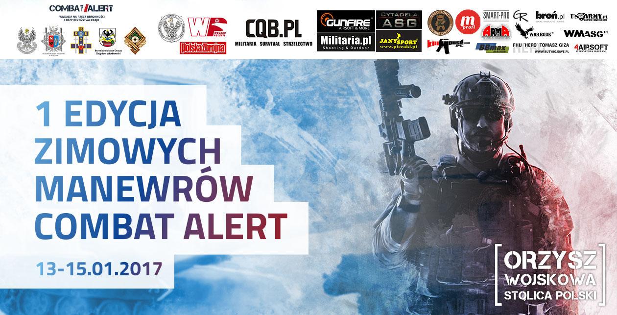 Zimowy Combat Alert: 13-15.01.2017