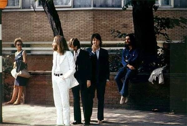64 Historical Pictures you most likely haven't seen before. # 8 is a bit disturbing! - The Beatles before making their most historical picture