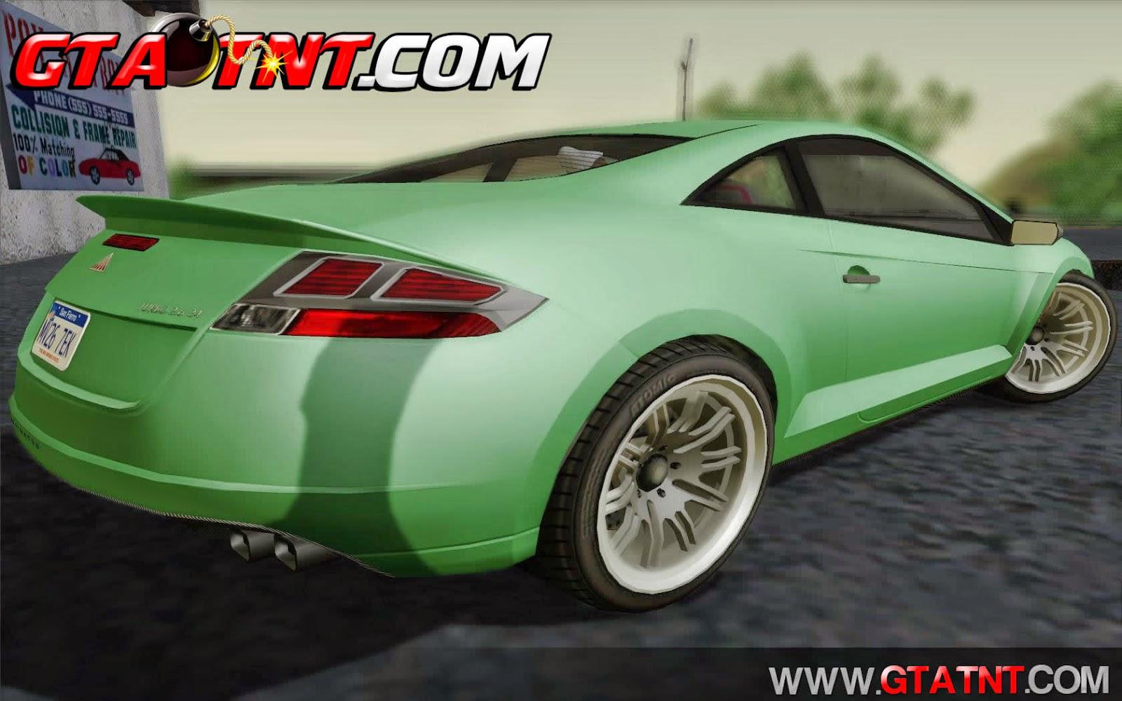 Maibatsu Penumbra Convertido do GTA V para GTA San Andreas