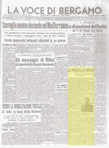 LA VOCE REPUBBLICANA DEL 30 GENNAIO 1943