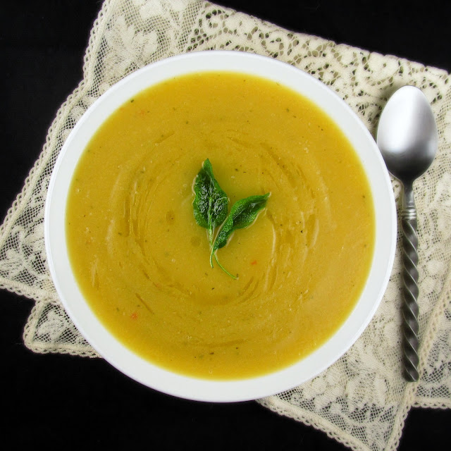 Rise and Shine: Roasted Acorn Squash Soup with Ginger and ...