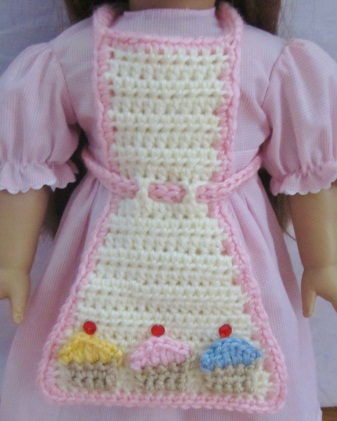 Crochet Cupcake Doll Pattern : Pretty Little Patterns: American Girl Doll (18