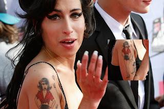 Amy Winehouse Tattoo Designs - celebrity Tattoo Ideas