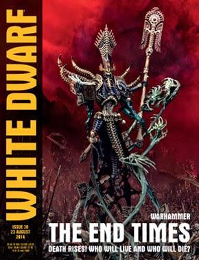 White Dwarf Weekly número 30 de agosto