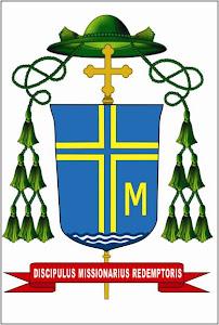 Brasão de Dom Marcos Piatek CSSR