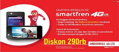 promo smartfren 4G Lte