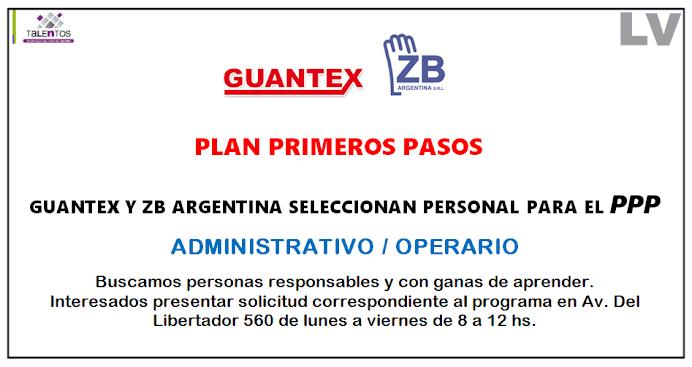 ESPACIO PUBLICITARIO: GUANTEX  ZB