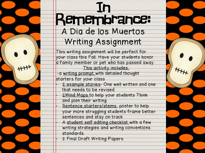 thesis statement about day of the dead Download thesis statement on dead poet's society in our database or order an original thesis paper that will be written by one of our staff writers and delivered.
