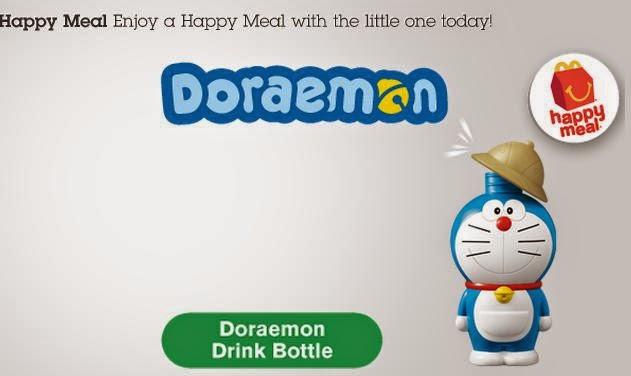 "Happy Meal ""Doraemon"" toys 2014, Happy Meal Doraemon toys"