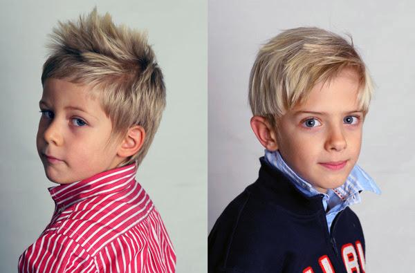 Peinados sencillos y a la moda para  niños