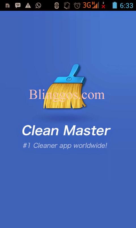 Cara Mengatasi Android Lelet dan Lemot Dengan Clean Master