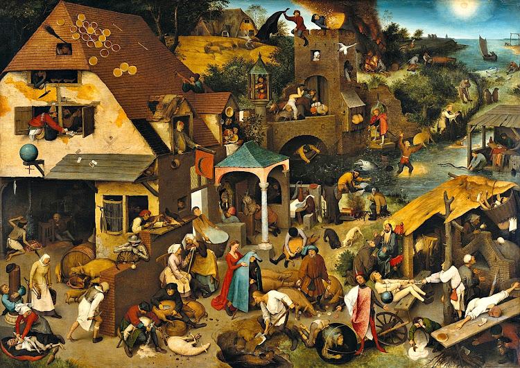 Pieter Bruegel the Elder - The Dutch Proverbs