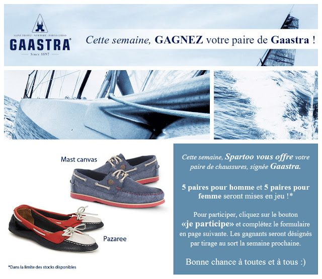 5 paires de chaussures Gaastra Pazaree + 5 paires de chaussures Mast Canvas