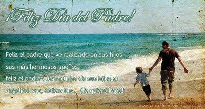 ¡Feliz Día del Padre! - Mensajes para compartir en Facebook - Postales de felicitaciones para papá