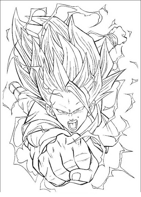 Dibujos Para Colorear Dragon Ball 3 - Serbagunamarine.com | Find ...